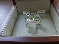 Красивый мужской перстень с камнями, фото 1