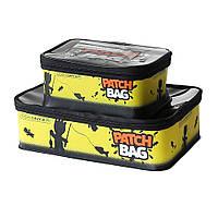 Комплект сумок для снастей Yoshi Onyx Patch Bag (1x - 35х23х10, 1x - 25x16x10), черно-желтый