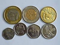Ботсвана 7 монет 2013 новый дизайн