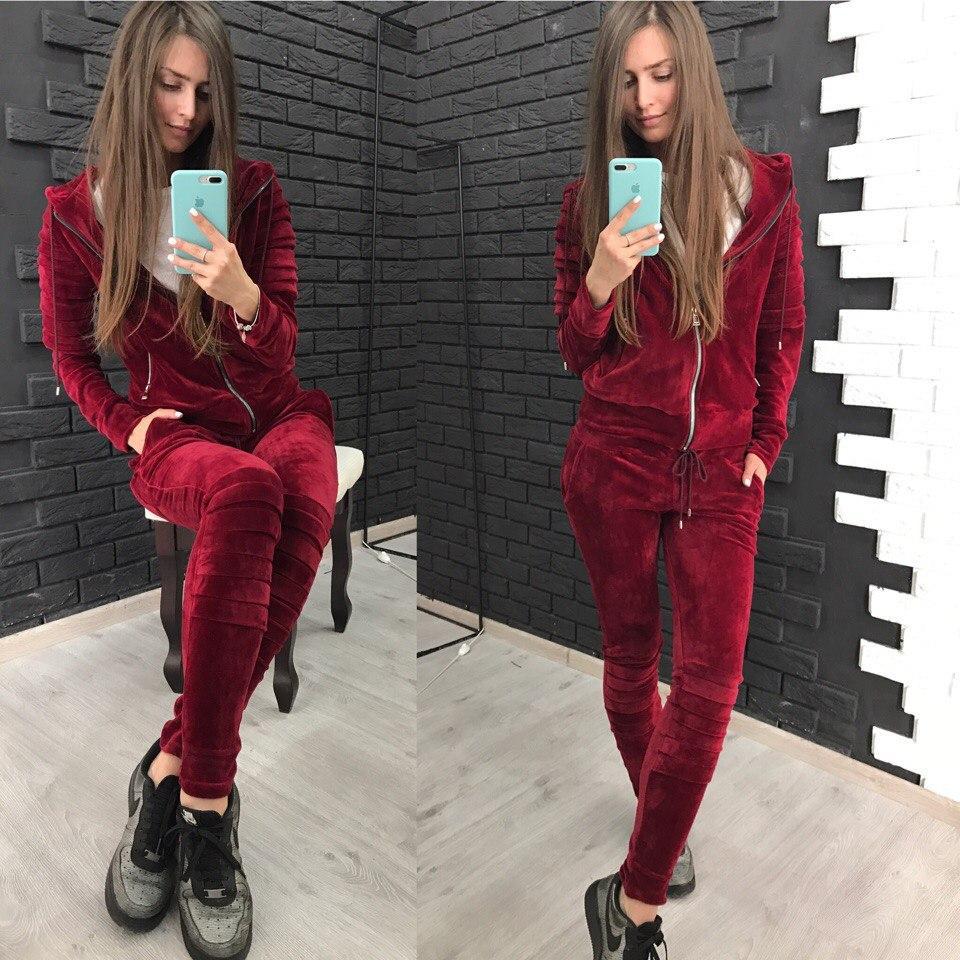 eb48c80ae2db Женский велюровый костюм  Спортивный костюм  3 цвета - интернет-магазин