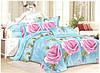 Сатиновое комплект постельное белье евроразмер египетский хлопок 100% хлопок