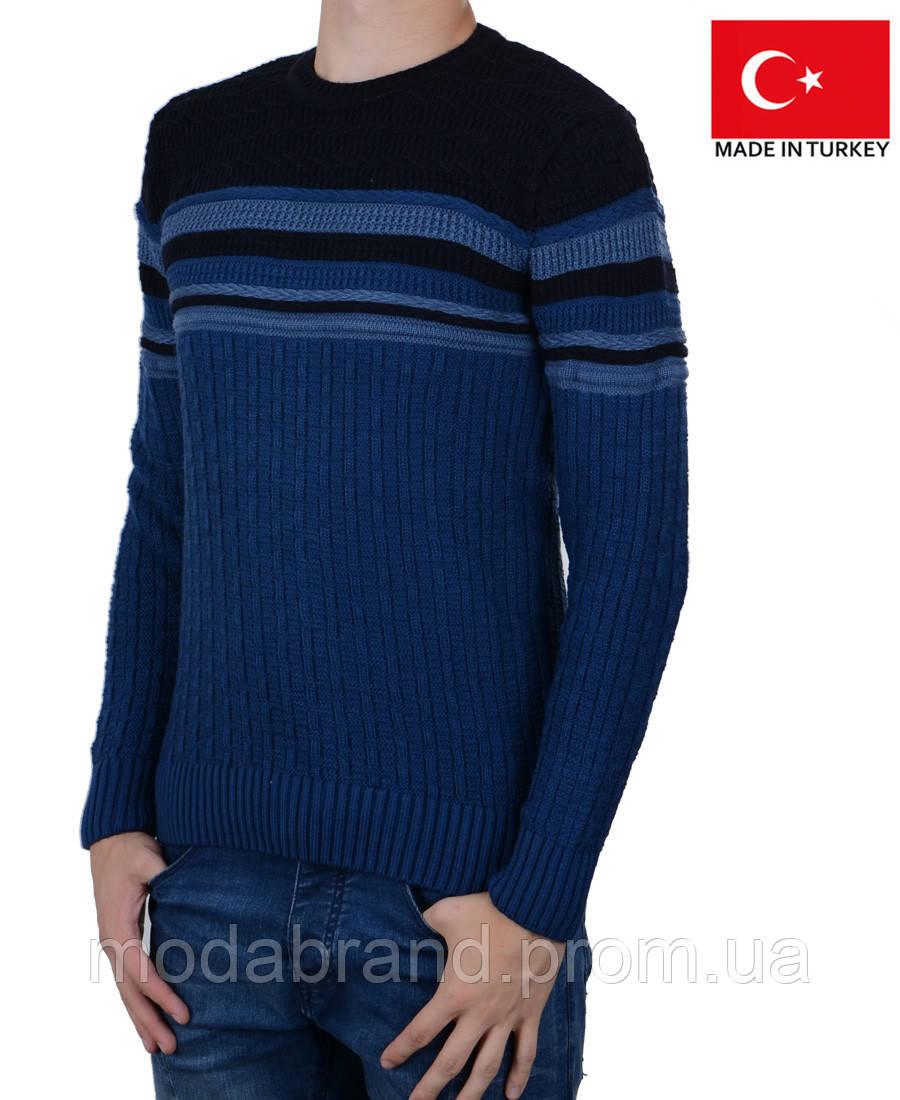10c494499fa Яркий теплый мужской свитер.  продажа