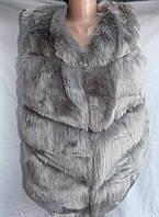 Женская жилетка меховая оптом