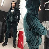 Мужской велюровый костюм; Спортивный костюм; Дракон; 3 цвета