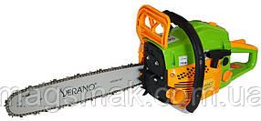 Цепная бензиновая пила Verano VRS22G, 45 см.куб, 2200 Вт, 38 см
