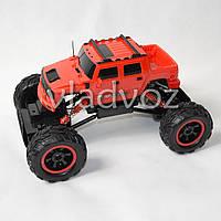 Машинка на радио управлении модель скоростной джип Rock crawler Hummer красный 1:14