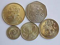 Кипр 5 монет 2004