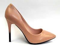 Женские туфли-лодочки на шпильке лаковые цвета разные 0468КФМ