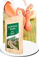 Пластыри для ног от грибка потливости Джингл хербс  Jungle herbs