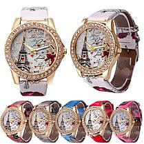 Женские кварцевые наручные часы Eifel gray, фото 3