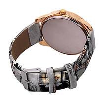 Женские кварцевые наручные часы Eifel gray, фото 2