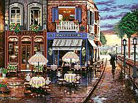Схема для бісеру Вулички після дощу (Дощовий вечір)