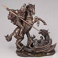 Статуэтка Veronese Георгий победоносец на коне 21 см 75858
