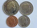 Кайманові острови 4 монети 2008, фото 2