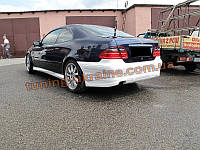 Накладки на пороги из стеклопластика на Mercedes CLK W208 1997-2002