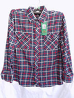 Рубашка мужская байка A20 оптом