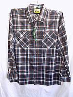 Рубашка мужская байка A23 оптом