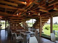 Строительство кафе из профилированного бруса