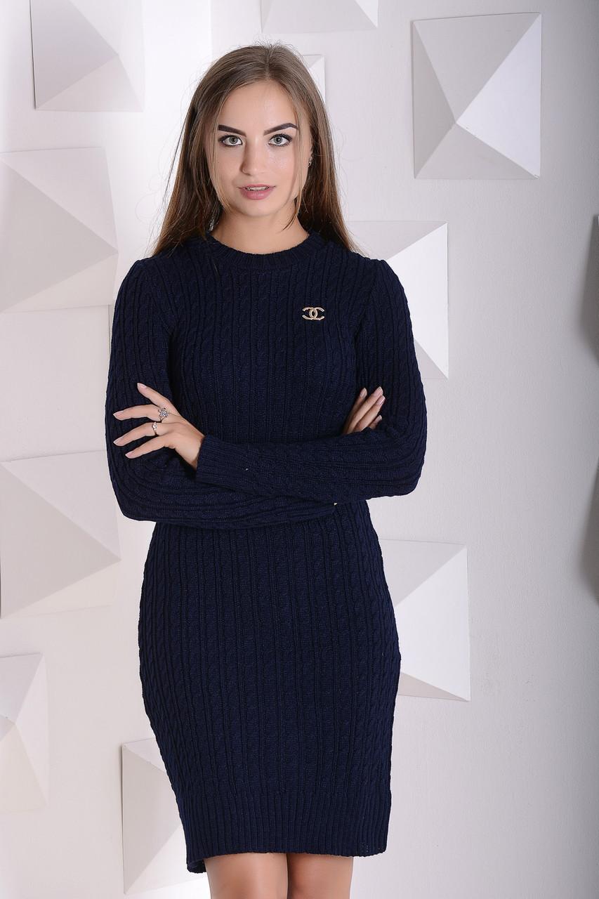 d3d63da1035 Вязаное платье Шанель  продажа