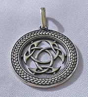 Знак кельтского Бога Луга с чернением