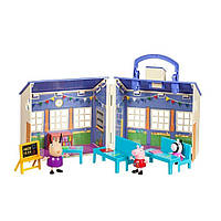 Игровой набор школа свинки Пеппы Peppa Pig Deluxe School House Playset