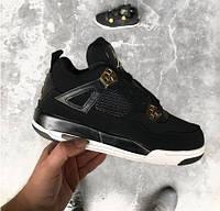 Air Jordan 4 Retro Royalty Black