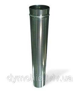 Труба з нержавіючої сталі 330мм  AISI 304, т. 0,8-1,0 (Ǿ100)