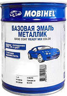Автоэмаль базовая металик 1л Mobihel, 602 Авантюрин
