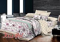 Постельное бельё двухспальное 180*220 хлопок (5175) TM KRISPOL Украина