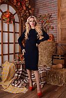 Платье вязаное Шанель в расцветках, фото 1