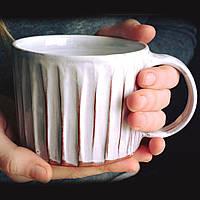 """Чашка TJ ceramics """"Faceted"""" 450 мл"""