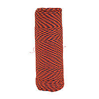 Шнур нейлоновый 4 мм Паракорд красный олива