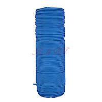 Шнур нейлоновый 4 мм Паракорд синий