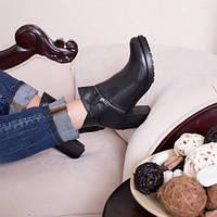 Ботинки кожаные т1041