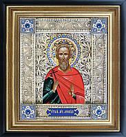 Святой Леонид скань икона