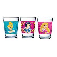 """Набор стаканов Luminarc """"Disney Princess Royal"""" детских 160 мл 3 шт"""