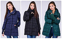 Женская теплая куртка р. S-XL
