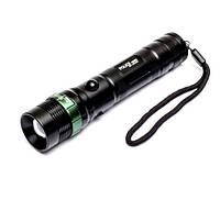 Фонарик ручной Police BL-8455, Съемный акамулятор, три режима работы, карманные фонари