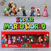 "Набор фигурок Марио - ""Mario Box"" - Оригинальная упаковка, фото 1"