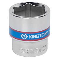"Головка 3/8"" 6 гранн. 18мм KING TONY 333518M, фото 1"