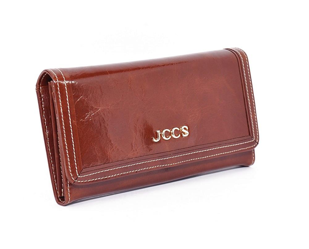 Кошелек женский кожаный коричневый JCCS 3053