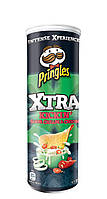 Чипсы  Pringles Xtra kickin sour cream and onion , 150 гр