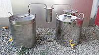 Дистиллятор на 40 литров под непроточную воду c разборным сухопарником