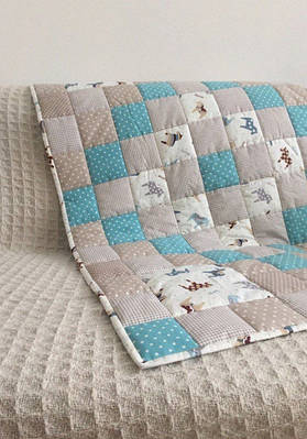 Одеяла детские и пледы