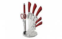 "Набор ножей Berlinger Haus ""Infinity Line Red Metallic"" на подставке 8 пр"