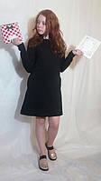 Сукня жіноча  міні в 12-ти кольорах Платье женское однотонное мини