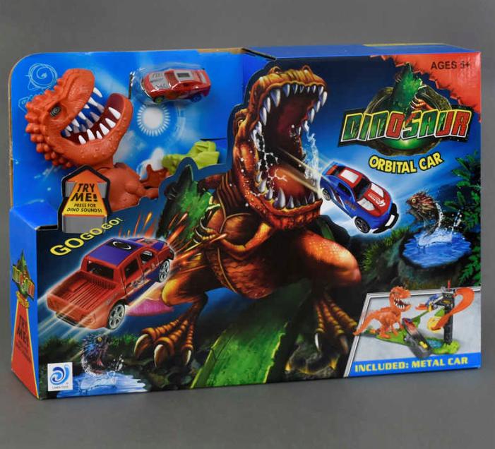 Хот Вилс игрушки,треки.Трек Хот Вилс Динозавр.