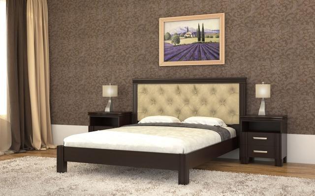 Кровать Маргарита венге