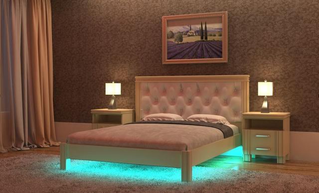 Кровать Маргаита с подсветкой