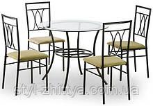 Комплект MERTON: стіл та 4 крісла